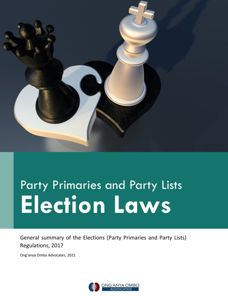 Election Laws, Election, Party List